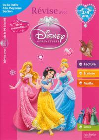 Révise avec Disney Princesses : de la petite à la moyenne section, 3-4 ans