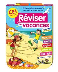 Réviser en vacances : CE1 vers CE2 : bloc jeux