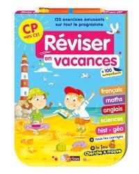 Réviser en vacances : CP vers CE1 : bloc jeux