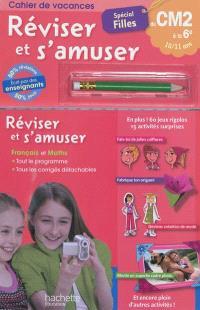 Réviser et s'amuser, du CM2 à la 6e, 10-11 ans : spécial filles
