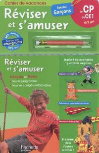 Réviser et s'amuser, du CP au CE1, 6-7 ans : spécial garçons