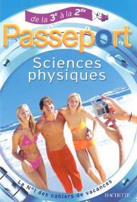 Sciences physiques, de la 3e à la 2de