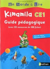 Kimamila CE1 : Guide pédagogique, avec CD ressources de 200 fiches