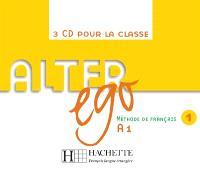 Alter ego 1, méthode de français, A1 : CD audio classe