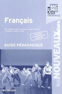Français, bac pro 3 ans : terminale professionnelle : guide pédagogique