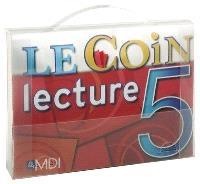 Le coin lecture  : coffret 5 : CM2 (10-12 ans)