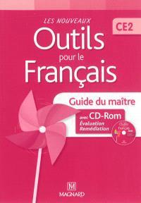 Les nouveaux outils pour le français, CE2 : guide du maître avec CD-ROM