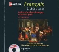 Français littérature : coffret d'analyse d'images