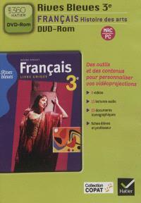 Français, histoire des arts, 3e : DVD-ROM