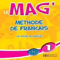 Le mag' 1 : CD audio classe