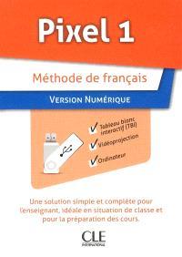Pixel 1 : méthode de français : version numérique