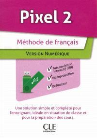Pixel 2 : méthode de français : version numérique