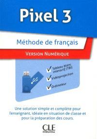 Pixel 3 : méthode de français : version numérique