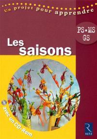 Les saisons PS-MS-GS