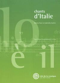 Chants d'Italie : pour chanter ensemble de 8 à 14 ans