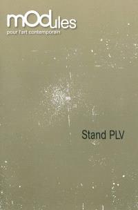 Stand PLV : oeuvres de la collection du Fonds régional d'art contemporain Poitou-Charentes