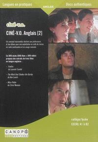 Ciné-VO anglais : collège/lycée : CECRL A1 à B2. Volume 2