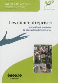 Les mini-entreprises : une pratique innovante de découverte de l'entreprise