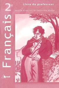 Francais Seconde Livre Du Professeur Librairie Mollat