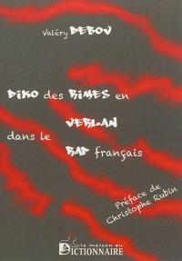 Dictionnaire des rimes en verlan dans le rap français