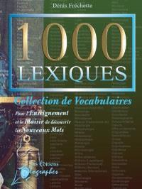 1000 lexiques