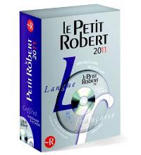Coffret Le Nouveau Petit Robert de la langue française 2011 : version papier et sur DVD