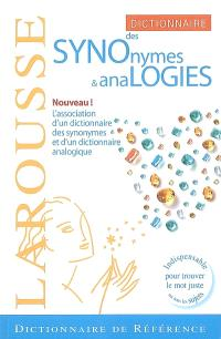 Dictionnaire des synonymes & analogies