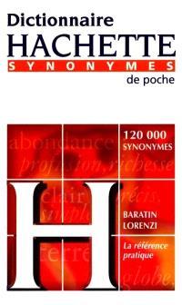 Dictionnaire Hachette des synonymes de poche
