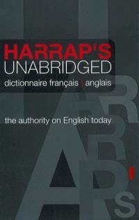 Harrap's unabridged dictionary = Harrap's unabridged dictionnaire. Volume 2, French-English = Français-anglais