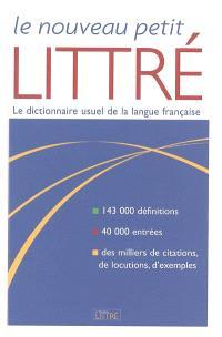 Le nouveau petit Littré : nouvelle édition du Petit Littré d'Emile Littré et Amédée Beaujean
