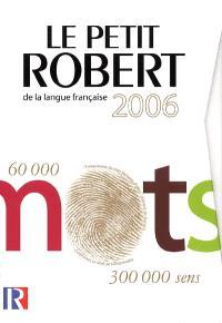 Le Petit Robert de la langue française : grand format
