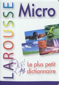 Micro Larousse : le plus petit dictionnaire
