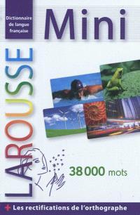 Mini dictionnaire : dictionnaire de langue française : 38.000 mots