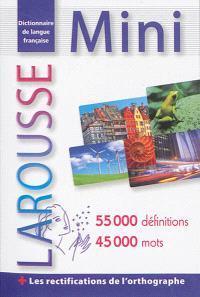 Mini-dictionnaire de langue française
