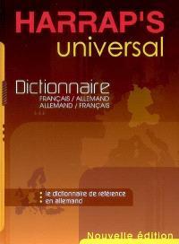Harrap's universal : dictionnaire français-allemand, allemand-français. Harrap's Deutsch aktiv : le guide de référence pour bien s'exprimer en allemand