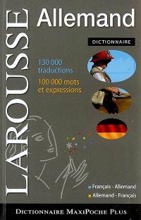 Dictionnaire allemand : français-allemand, allemand-français = Wörterbuch Französisch-Deutsch, Deutsch-Französisch