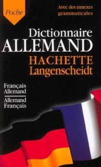 Dictionnaire de poche : français-allemand, allemand-français