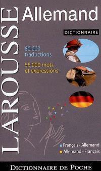 Dictionnaire de poche français-allemand, allemand-français = Taschen-Wörterbuch französisch-deutsch, deutsch-französisch