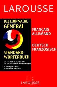 Dictionnaire général français-allemand, allemand-français
