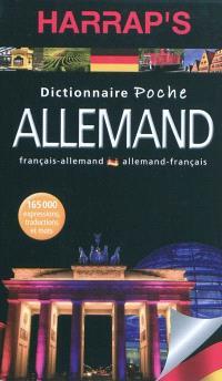 Harrap's dictionnaire poche allemand : français-allemand, allemand-français
