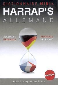 Harrap's mini plus dictionnaire allemand : français-allemand, allemand-français