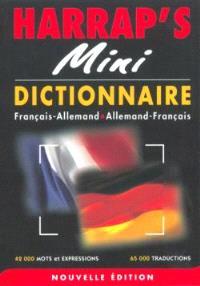 Harrap's mini-dictionnaire : allemand-français, français-allemand