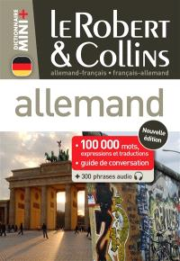 Le Robert & Collins allemand : français-allemand, allemand-français : 100.000 mots, expressions et traductions + guide de conversation