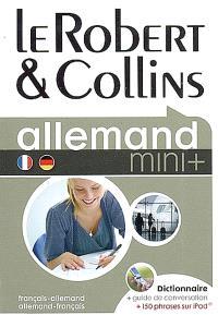 Le Robert & Collins allemand, français-allemand, allemand-français : dictionnaire, guide de conversation + 150 phrases sur iPod