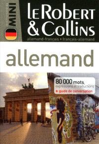 Le Robert & Collins mini allemand : allemand-français, français-allemand : 80.000 mots, expressions et traductions