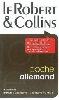 Le Robert & Collins poche allemand : dictionnaire français-allemand, allemand-français