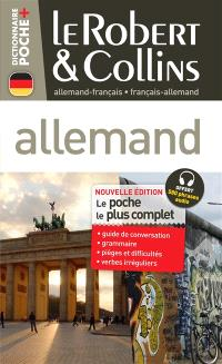 Le Robert & Collins poche plus allemand : français-allemand, allemand-français
