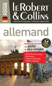 Le Robert et Collins poche allemand : français-allemand, allemand-français