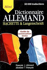 Mini dictionnaire français-allemand, allemand-français : guide de conversation inclus