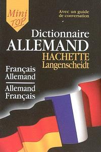Mini-dictionnaire : français-allemand, allemand-français : guide de conversation